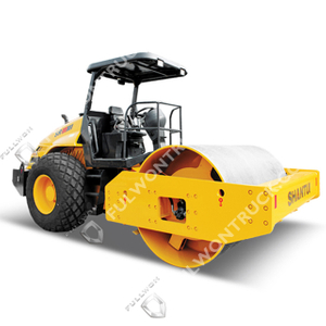 SR10/SR10P Full-Hydraulic Single-Drum Vibratory Road Roller Supply by Fullwon