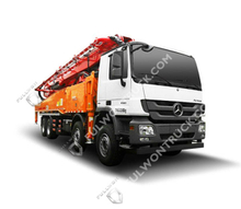 49m Concrete Pump Truck with Benz Chassis Supply by Fullwon
