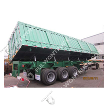 Fullwon Side Dump Semi Trailer