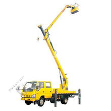 XCMG Folding Jib Aerial Working Vehicle XZJ5068JGK Supply by Fullwon