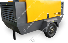Fullwon Small And Medium Electric Shift Series Mobile Screw Air Compressor