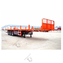 Fullwon Flat Bed Semi Trailer with Stakes