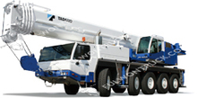 TADANO Cheap All Terrain Crane-ATF110G-5