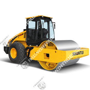 SR12-5/SR12P-5 Full-Hydraulic Single-Drum Vibratory Road Roller Supply by Fullwon