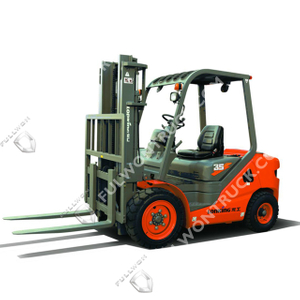 LG35D(T) Diesel Forklift Supply by Fullwon