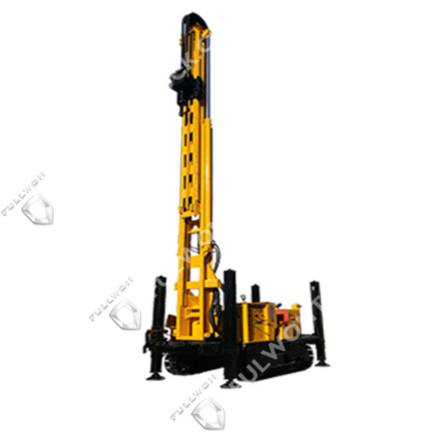 Fullwon SWS600SH Crawler Mounted Telescoping Mast Well Drilling Rig